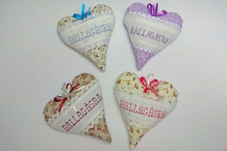 Varrt szívek ballagásra - ajándék ballagónak